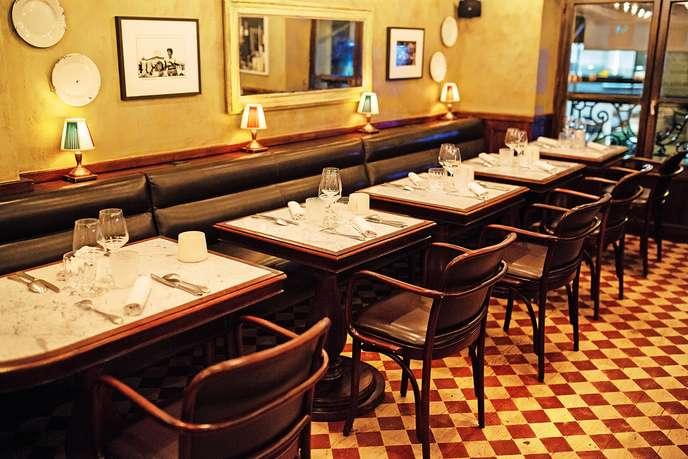 Pierre Gagnaire a réinvesti les murs de son ancien restaurant Gaya, rue du Bac à Paris, pour ouvrir cette trattoria inspiré duconcept de sa table du même nom à Courchevel.