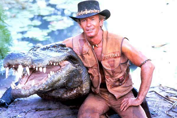 Résultat d'image de dundee crocodile